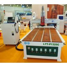 Фрезерный станок с ЧПУ и автоматической  линейной сменой инструмента LTT-P1325Z