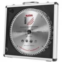 Комплект пильных твердосплавных дисков в алюминиевом чемодане